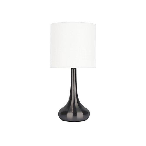 Lola Gunmetal Touch Lamp
