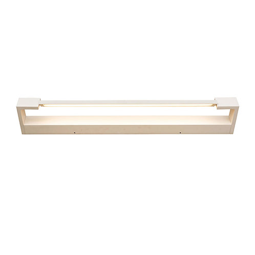 Jerome 18w white LED Vanity Light