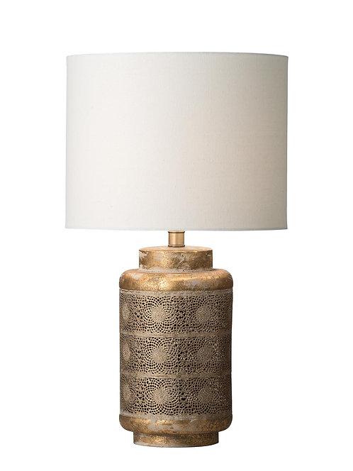 Nudara antique brass table lamp