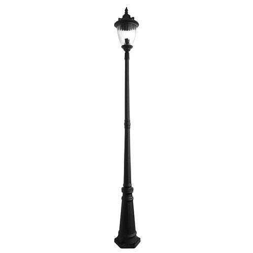 Newark black 1lt head postlight
