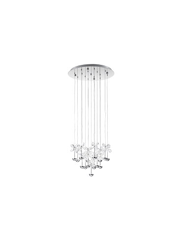 Pianopoli LED Crystal Small Chandelier