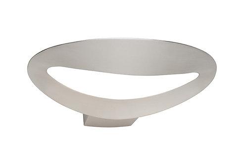 Accord satin chrome QI wall Light