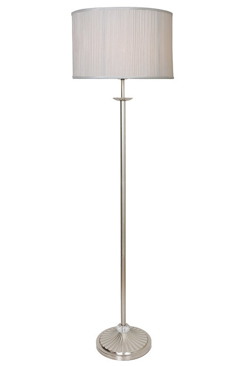 Mia Antique silver Floor Lamp