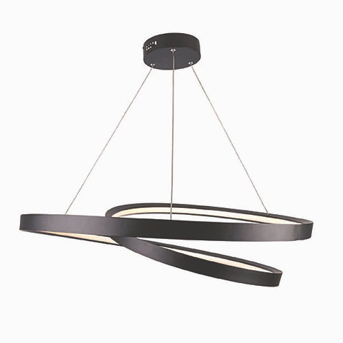 Armstrong LED black pendant