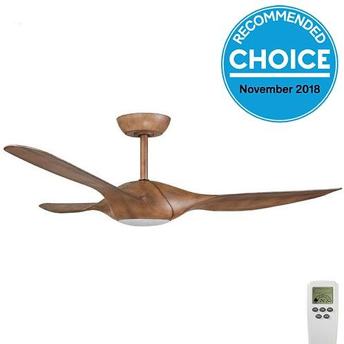 """Fanco Origin DC 56"""" (1420mm) Ceiling Fan with LED - Koa"""