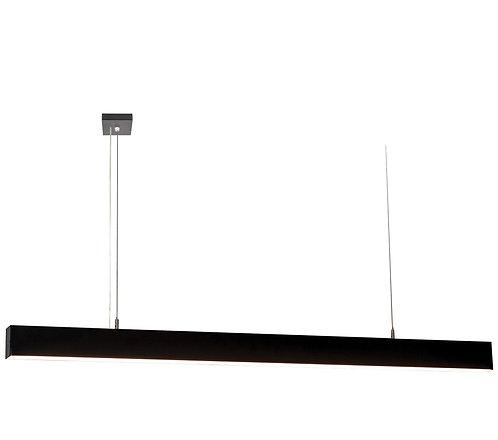 21w 1.5m black  LED linear pendant