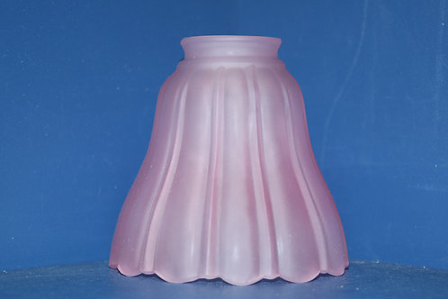 044 pink bell glass