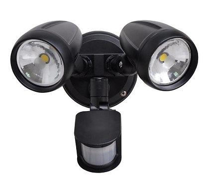Twin Exterior Sensor Spot Light