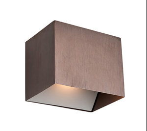 Corsten copper bronze LED wall sconce
