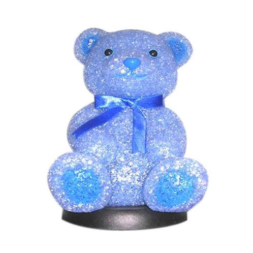 Blue Bear Lamp