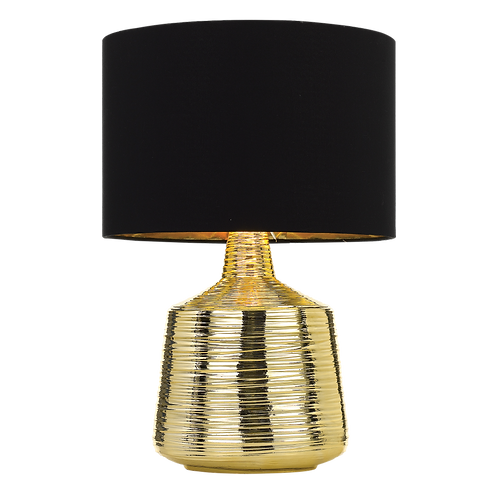 Sylvia gold textured table lamp