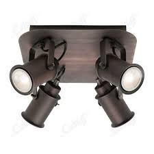 Ryan 4lt LED ceiling spotlight