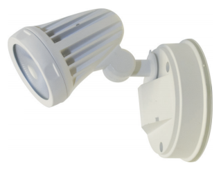Fortress Single Exterior Sensor Spot Light IP65