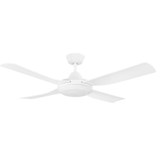 "Bondi  52"" white AC fan only"