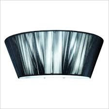 Paolo black string Wall Light