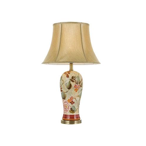 Landau floral ceramic table lamp