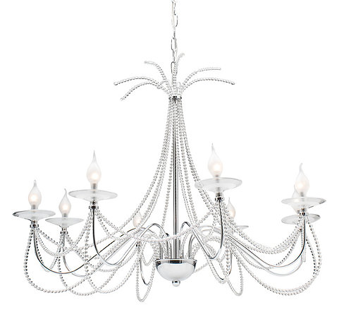 Cologne 12v  8lt beaded chandelier