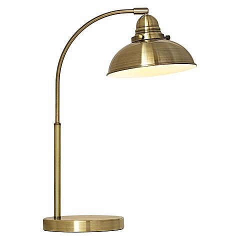 Manor Antique Brass desk lamp