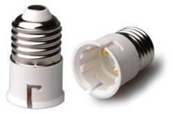 Lampholder Adaptor E27 to B22