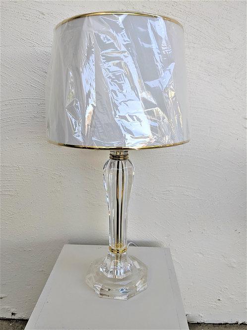Gold acrylic base and shade