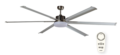 """Martec Albatross DC 84"""" (2100mm) Ceiling Fan with 24w LED Light"""