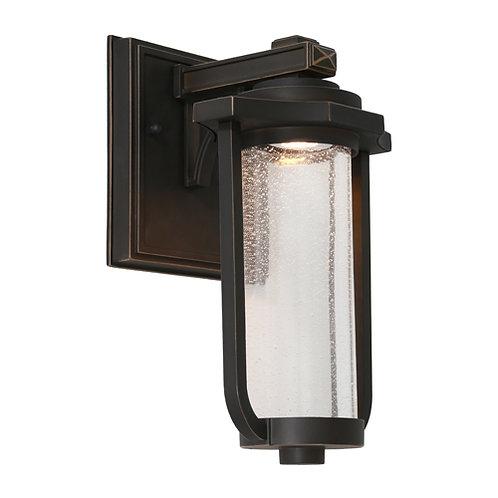 Hartwell LED bronze exterior wall light