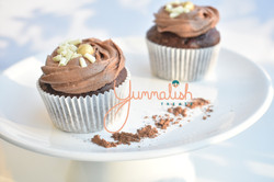 Chocoloate Cupcakes with Chocolate Cheesecake Frosting
