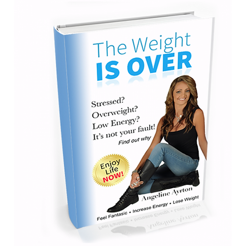 The Weight Is Over' By Angeline Ayrton - Hardcover 163 Pages