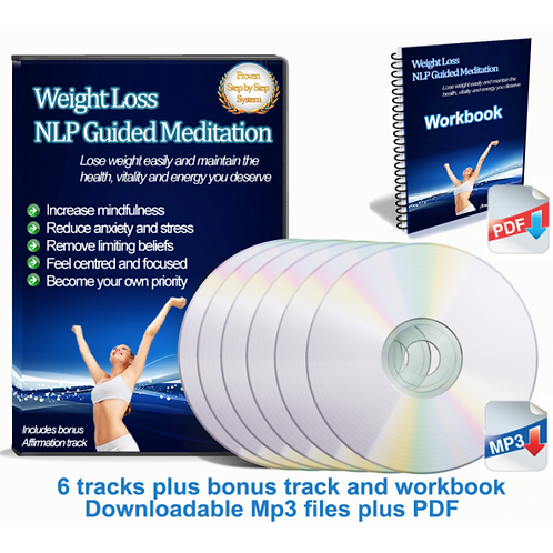 Guided Meditation Pack And Workbook