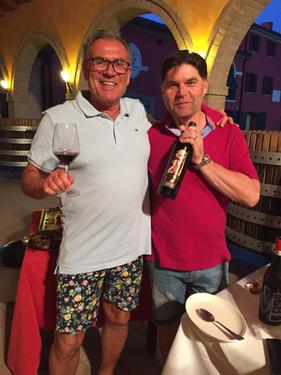 Tredje generationen vinmakare hos Antonio Facchin.