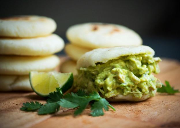 Arepas with Avocado