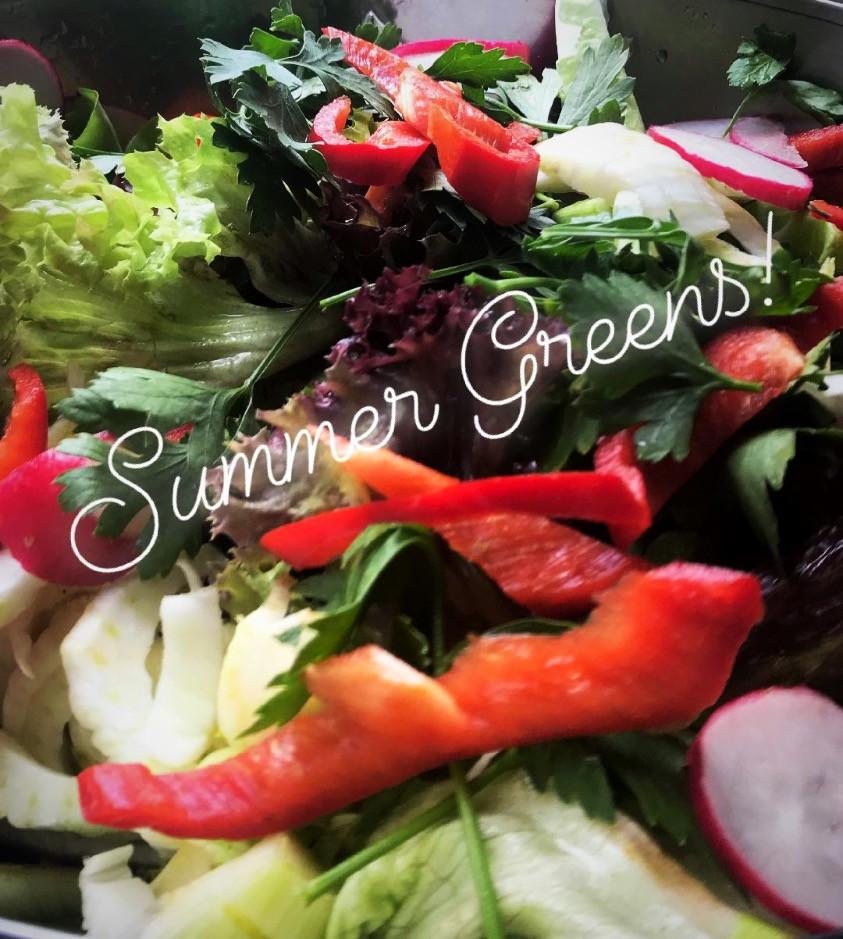 Summer Organic Greens