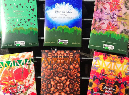 AMMA Organic Chocolate Love