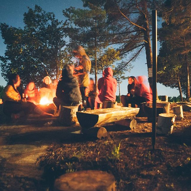 We promise campfires and lots of fun . .