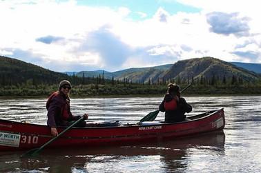River paddle at Yukon Youth Leadership