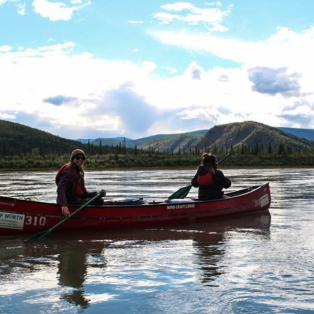 River paddle at Yukon Youth Leadership
