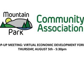 Pop-Up Meeting: Virtual Economic Development Forum - Video Recording