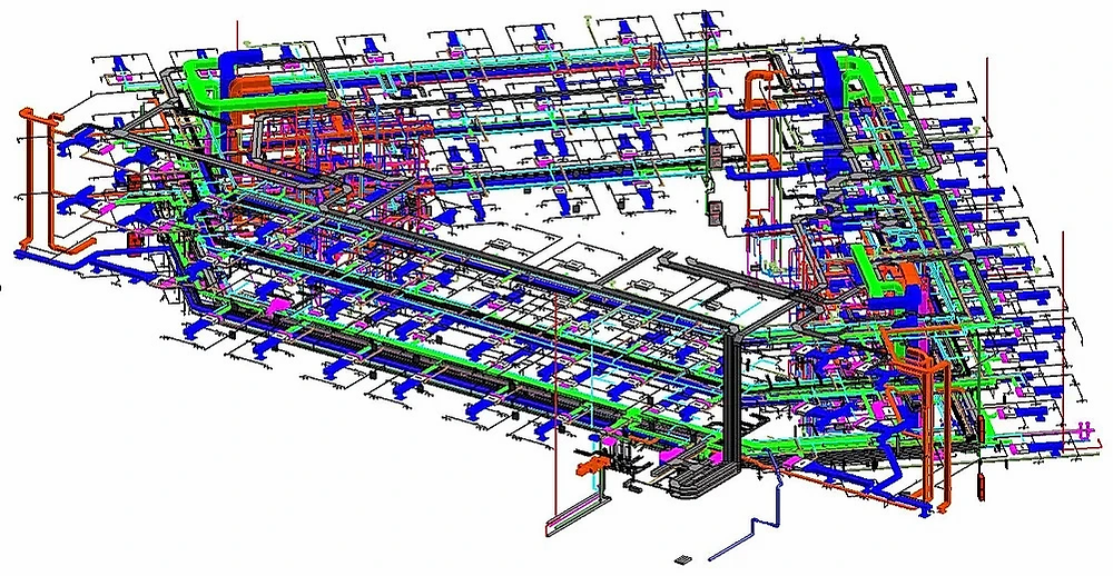 We provide high quality Mechanical, electrical and plumbing modeling services. Our MEP model contains a high level of detail for mechanical ducts, mechanical pipes, water supply pipes, drainage pipes, sanitary pipes, electrical conduits, electrical cable tray, fire protection network along with fitting and fixtures.