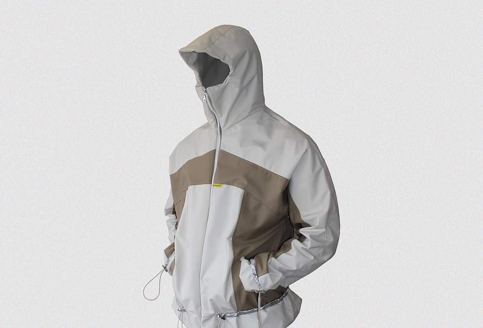 RECONSTRUCTED OFF-CUT MASKED WINDBREAKER (1 OF 1)