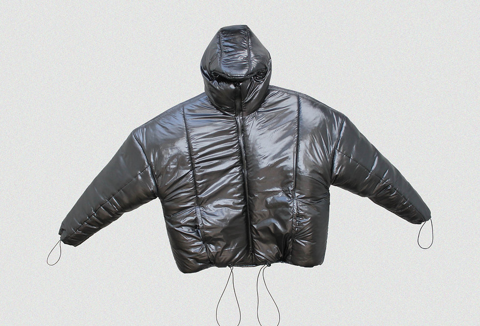 RECONSTRUCTED MASKED PUFFER COAT (1 OF 1)