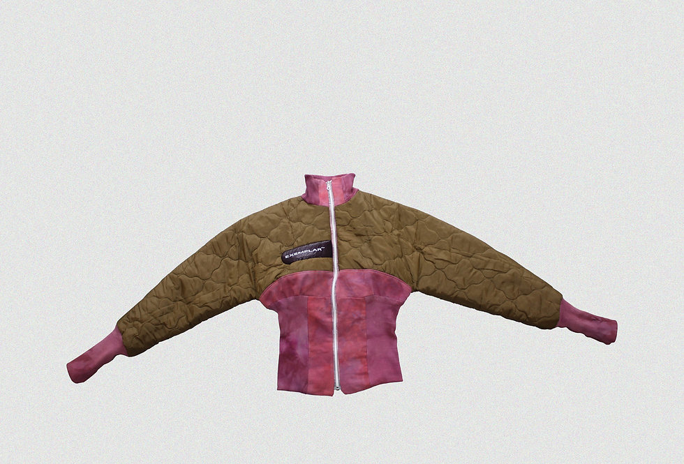 RECONSTRUCTED COLLARED JACKET (1 OF 1)