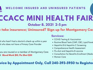 10.8.2021 CCACC Mini Health Fair