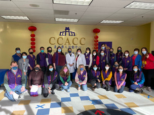 Second Vaccination Clinic At CCACC on 3/13/2021在CCACC進行第二次疫苗接種