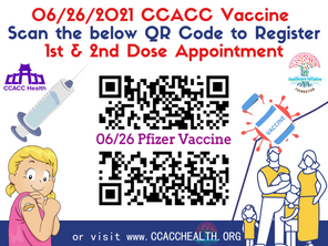 Next Pfizer Clinic w/Shaved Ice: 6.26.2021