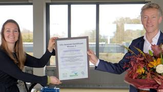 NCK reikt het 1.000ste CO2-Prestatieladder certificaat uit aan Hoogheemraadschap van Delfland