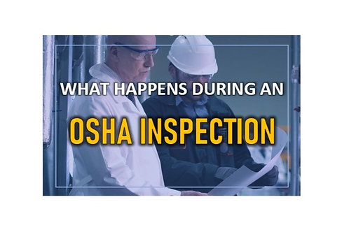Servin' Up Safety: When OSHA Comes Knocking Webinar- August 26, 2020