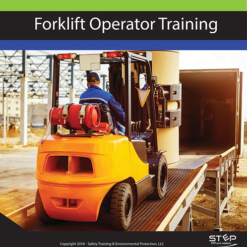 Forklift Operator Training - Hard Copy