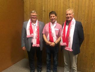 Eine Ära geht zu Ende: Heinz-Walter Schenk und Hans-Klaus Kapschak scheiden aus dem Vorstand aus