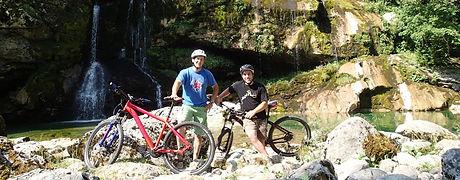 Rafting Szlovénia, kerékpár bérlés