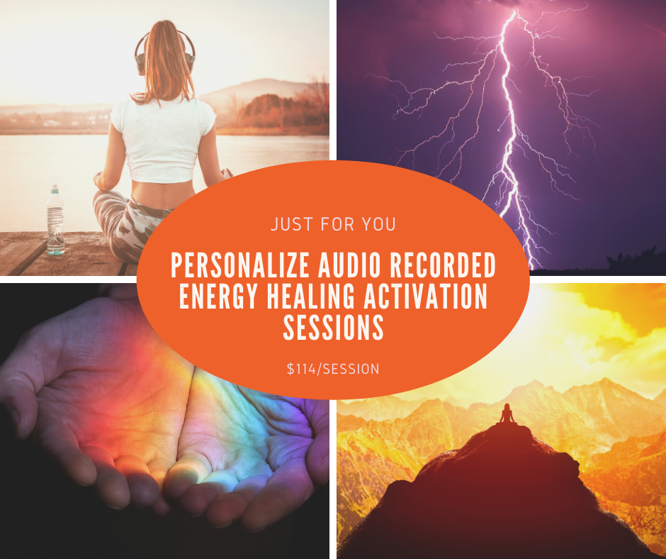 Personalize Audio Recorded Healing